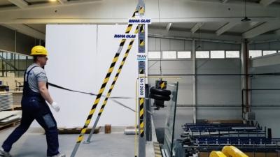 Testiranje staklene ograde za SWISSOTEL