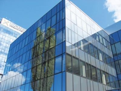 Hauptsitz der Raiffeisen Bank