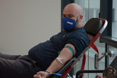 Voluntary blood donation in the companies RAMA-GLAS and HANO