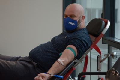 Freiwillige Blutspende in den Unternehmen RAMA-GLAS und HANO